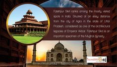 """Step back in time to the glory of the Mughal Empire, and visit the """"ghost city"""" of Fatehpur Sikri.  Visit our official Website: http://incredibletaj.com/ or call us today +91-7248150005 to book your dream tour  #agratour #agra #samedayagratour #tajmahal #agrafort #fatehpursikri #mehtabbagh #samedaytour #indiatour #inboundtour #indiaholiday #holidays #vacations #tour #travel"""
