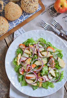 Patrząc przez okno? To całkiem zimowa jest ta nowa sałatka :) Coleslaw, Cabbage Salad, Coleslaw Salad