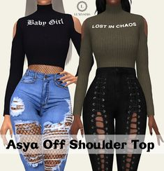 Asya Off Should Top at Lumy Sims • Sims 4 Updates