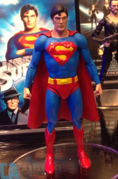 Any collectors our there know the release date of this figure? It's DC Comics Multiverse Superman figure. Superman Figure, Superman Stuff, Christopher Reeve Superman, George Reeves, Marvel Comics Superheroes, Superman Man Of Steel, Old Comics, Clark Kent, Toys