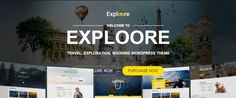 Modern Travel WordPress Theme