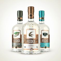 FEEDER - Russian strong alcoholic beverages on Behance