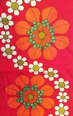 vintage fabric. Daisy chain to make my shoulder tattoo flow into my back tattoo