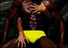 #Charlie by #MatthewZink  Campaña Swimwear Verano 2015 Modelos: #PietroBoselli #LaysSilva #BlakeBridgers #KwakuFordwouth