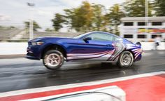 New Cobra Jet Drag Car — Mustang Driven