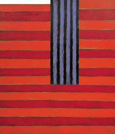 "Sean Scully, ""Catherine,"" 1982, Modern Art Museum of Fort Worth"