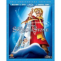 The Sword in the Stone Blu-ray and DVD Combo Pack