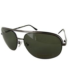 Timberland Sunglass Mens Gunmetal Metal Aviator Green Lens TB7130 8N --  Visit the image link more details. Note It is affiliate link to Amazon. 7eabb19fe8d8