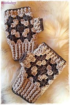 Ravelry: White Coffee Gloves pattern by Chiara Inzani Knitting For BeginnersKnitting FashionCrochet PatternsCrochet Amigurumi Crochet Fingerless Gloves Free Pattern, Fingerless Mittens, Knitted Gloves, Crochet Shawl, Knit Crochet, Granny Square Häkelanleitung, Granny Square Crochet Pattern, Crochet Patterns, Crochet Wrist Warmers