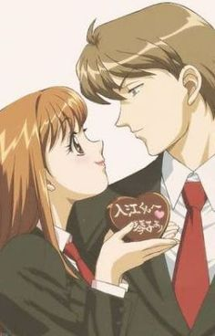 Itazura na Kiss (Playful Kiss). Itazura Na Kiss Anime, Cute Anime Pics, Anime Love, Kiss Day, Playful Kiss, Kaichou Wa Maid Sama, Hot Anime Guys, Shoujo, Me Me Me Anime