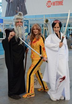 """Cut the Hall H line? The cast of """"Kill Bill"""" will cut you 