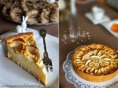 Cheesecake, Käsekuchen, Apfel-Vanille, Doppelrahmfrischkäse, Granny Smith, Mürbeteig, Shortbread