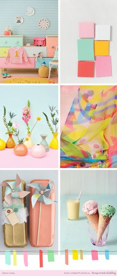 A very happy, shiny colour crush post up on the blog today, summer, summer, summer!  love print studio blog: Colour crush...