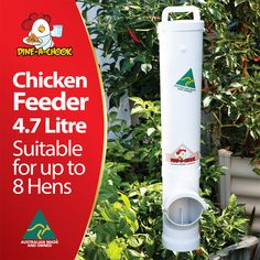 The wait is finally over! 3 Years planning, 18 months indevelopment and thousands of our original'One of a Kind'PVC Chicken Feeder sold all over the world. Biggin Pty Ltd is proud to announce the release of our all new and 100% Australian made Dine a Chook Chicken Feeder. Featuring outstanding innovations, which have been developed …