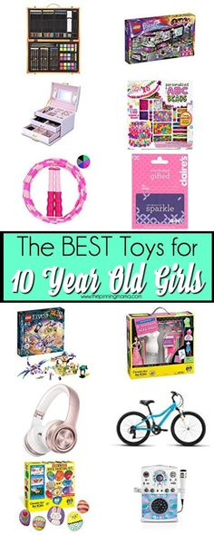 The BIG list of Toys ideas for 10 year old girls, perfect for Christmas and Birthdays. Christmas Gifts For 10 Year Olds, 10 Year Old Gifts, Old Christmas, Christmas Ideas, Tween Girl Gifts, Little Girl Gifts, Tween Girls, 10 Years Girl, 9 Year Old Girl