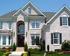 Exterior White Wash Brick Design, Pictures, Remodel, Decor and Ideas - page 2