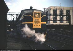 RailPictures.Net Photo: 0768 New York, New Haven & Hartford Railroad Alco PA1 at Boston, Massachusetts by John Dziobko