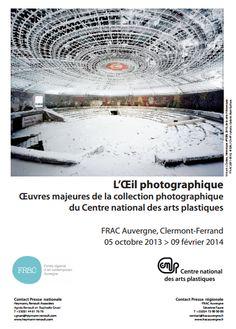 Exposition L'œil Photographique 2013-2014 à Clermont Ferrand. Du 5 octobre 2013 au 9 février 2014 à Clermont Ferrand.
