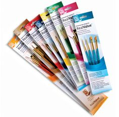 A value selection of Princeton Real Value Series 9100 Brush Sets .... there's something for everyone!