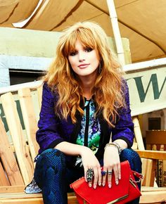 Bella Thorne - Photoshoot Candids in LA