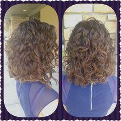 Curly Haircut and Balayage Color by: Brittany Sennhenn www.BeInspiredSalon.com 608.271.2771