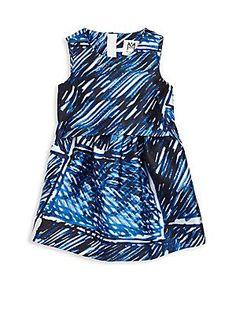 MILLY MINIS Toddler's & Little Girl's Ari Scribble-Print Dress - B