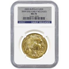 2009 1 oz $50 Gold Buffalo NGC MS 70 (Early Releases) | Bullion Exchanges
