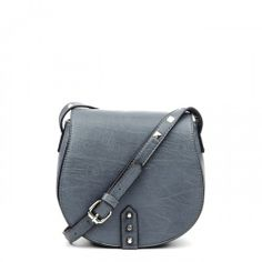 Delancey vegan studded crossbody - Grey