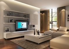 Entertainment unit, living room tv, tv cabinets, living room designs, s Floating Tv Cabinet, Small Tv Cabinet, Floating Shelves, Floating Entertainment Unit, Entertainment Room, Living Room Tv, Tv Cabinets, Great Rooms, Living Room Designs