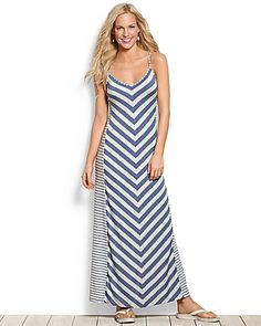 Tommy Bahama - Seaside Stripe Maxi Dress