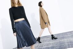 ZARA - shoes & skirt