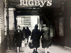 Leather Lane - 1960s Liverpool History, Family Roots, Old Pictures, Old Things, Leather, 1960s, Memories, Places, People