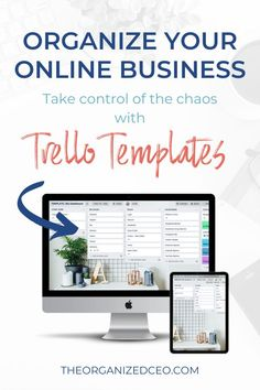 Get these free Trello templates for online entrepreneurs, coaches, consultants, bloggers, and digital product creators. Organize your business with these free Trello templates. The 3 boards include the biz dashboard, productivity planner, and system and processes. Business Organization, Tool Organization, Trello Templates, Competitor Analysis, Online Entrepreneur, Coaches, Productivity, Online Business, Organize