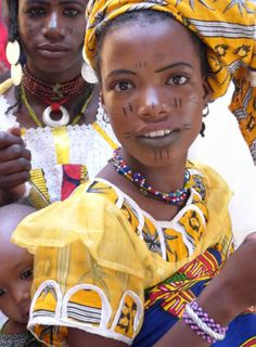 Africa   Young woman in Burkina Faso   Photographer unknown