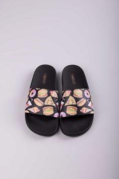 Halloween Pumpkin Skull Bat Summer Slide Slipper for Men Women Boy Girl Outdoor Beach Sandal Shoes