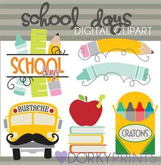 Hey, I found this really awesome Etsy listing at https://www.etsy.com/listing/159497639/back-to-school-clip-art-personal-and