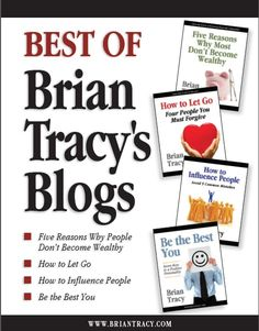 The ultimate collection of Brian Tracy's BEST blog posts!  Download the Report Here: http://www.briantracy.com/files/pages/squeeze/blog.html?cmpid=2269=1699