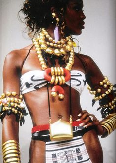 naomi campbell in kenzo 1992