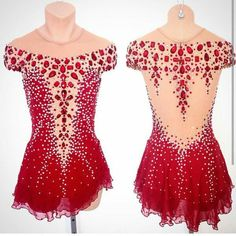 2017 New Ice Figure Skating Dress Baton Twirling Dress For Competitio Eislauf Outfits, Dance Outfits, Figure Skating Outfits, Figure Skating Costumes, Ice Dresses, Ice Skating Dresses, Vestido Off Shoulder, Kids Dance Wear, Ballroom Dress