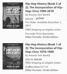 Printhousebooks.com #Printhousebooks Visit our site for your next read books available everywhere that books are sold globally. Coming Soon! Hip-Hop History: The Incorporation of Hip-Hop (Circa 1970-2010) #ATL #newyork #newjersey #losangeles #Miami #Chicago #Houston #hiphophandsfoundation #hiphop #Uk #torontolife #DC #virginia #Nola #compton #london  #Brazil #japan #Jamaica #australia #memphis #mexico #europe #germany #russia #vegas #newzealand