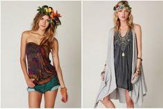 floral headpiece how-to | Free People Blog #freepeople