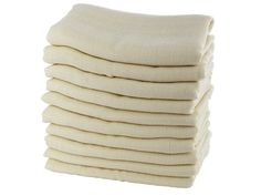 Schneller Versand ✓ 30 Tage Rückgaberecht ✓ Mullwindeln - 100% hautfreundliche Bio-Baumwolle (kbA). GOTS zertifiziert. Vielseitig verwendbar. Ungebleicht, ungefärbt, allergenarm. Maschinenwaschbar 95° C., 80 x 80 cm