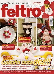 Felt toys magazine (Brazil)