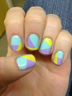 my funky easter nail art check out www.MyNailPolishObsession.com for more nail art ideas.