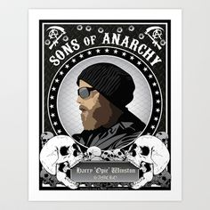 Sons of Anarchy Series Art Print by HeyTrutt - $15.60