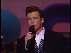 Rick Astley - She Wants To Dance With Me (Live 1989)