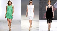 Ritorno alla moda anni '20 per la primavera estate 2012.