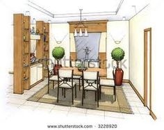 interior design sketch - Google Search