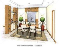 interior design sketch - Google Search