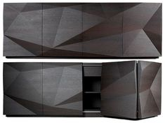 The beauty of modular geometry, Ferruccio Laviani for Emmemobili, Crash storage cabinet series
